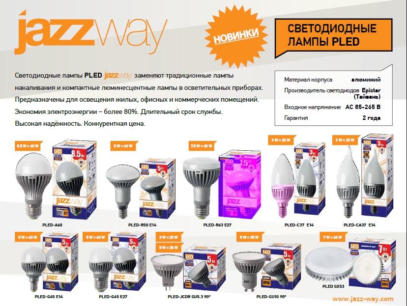 JazzWay LED Pled